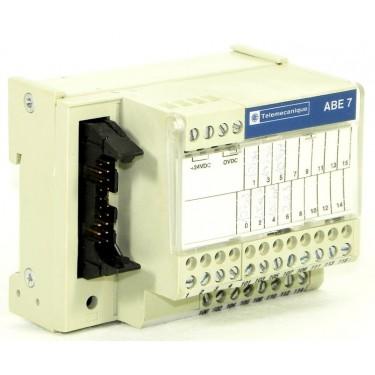 Telemecanique ABE7H16R50 MODICON ABE7 BASE cablaggio con 1 T.BLOCK per il canale. Schneider