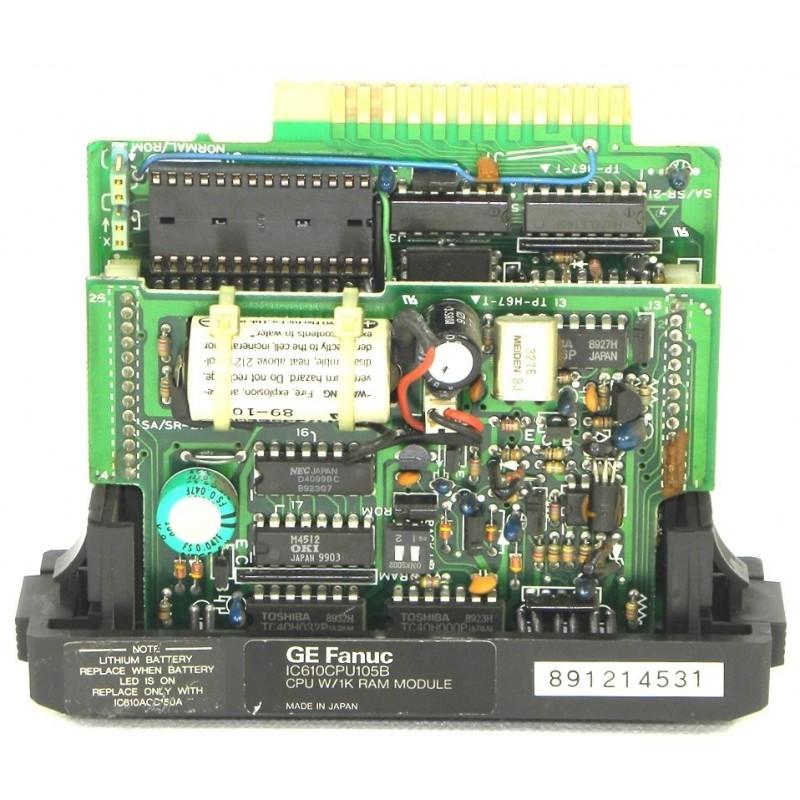 IC610CPU105B GE FANUC CPU MODULE