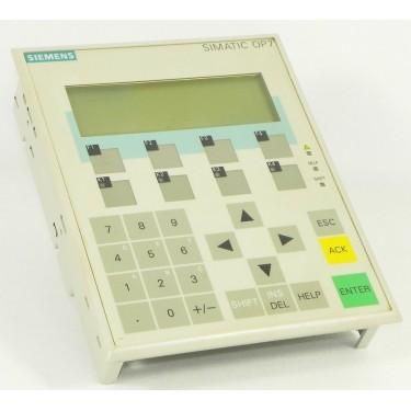 SIEMENS SIMATIC OP7 LCD-Display 6AV3607 Wd-G1003p OPERATOR HMI 6AV3 607