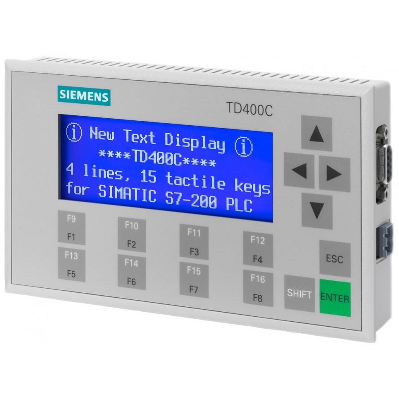 6es7272 1aa10 0ya1 siemens simatic hmi operator panel for s7 6av6 640 0aa00 0ax1 siemens td400c textdisplay 4 lines for simatic s7 200 sciox Choice Image