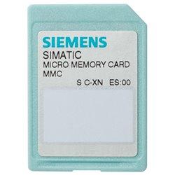 6ES7953-8LL31-0AA0 SIMATIC S7, MICRO MEMORY CARD P. S7-300/C7/ET 200, 3.3 V NFLASH, 2 MBYTES