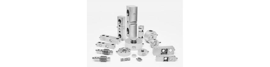 Células de carga y Accesorios de montaje